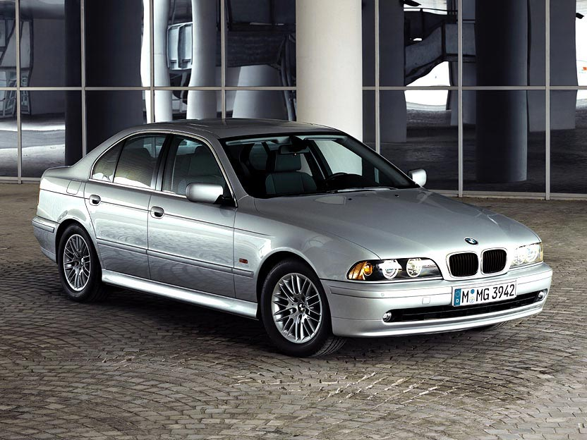 Sedan Silver Front on Bmw 535i Battery Location