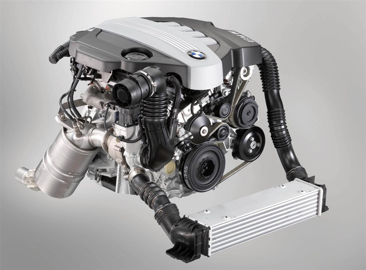 Twin Turbo and EfficientDynamics for 4cyl Petrol and Diesel