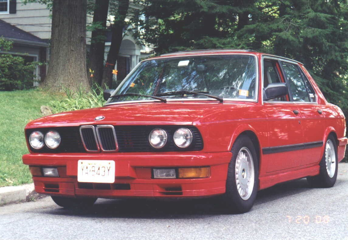 Bmw Heaven Specification Database Specifications For 520i E28 5 Series